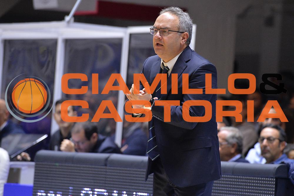 Sacripanti Stefano<br /> Happycasa Basket Brindisi - Sidigas Avellino<br /> Legabasket serieA 2017-2018<br /> Brindisi , 15/11/2017<br /> Foto Ciamillo-Castoria/ M.Longo