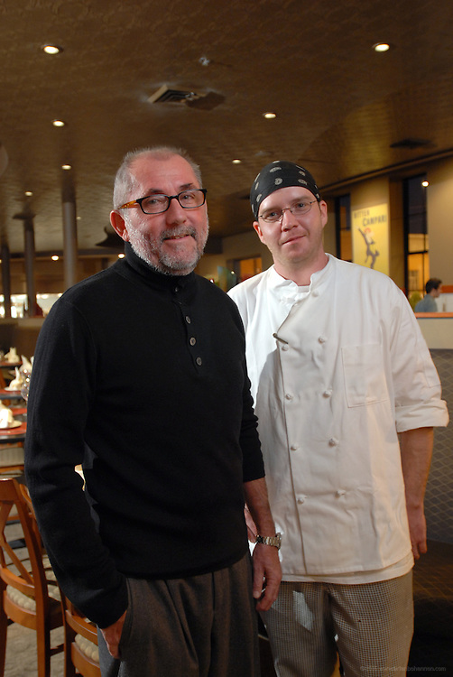 Chef Michael Hargrove and Bim Dietrich at Primo.