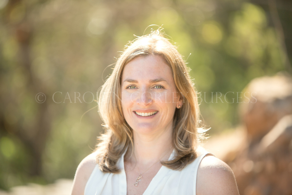 Angela Baxter - owner Terra Valentine Winery, Saint Helena, Napa Valley