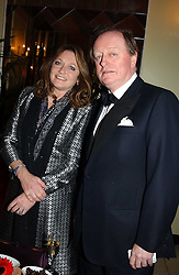 LEONORA, COUNTESS OF LICHFIELD and ANDREW PARKER BOWLES at 'A Rout' an evening of late evening party, essentially of revellers in aid of the Great Ormond Street Hospital Children's Charity and held at Claridge's, Brook Street, London W1 on 25th January 2005.<br /><br />NON EXCLUSIVE - WORLD RIGHTS