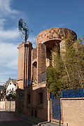Windmill or Molino at Casa Armet - Modernist Architecture, Sant Cugat des Valles
