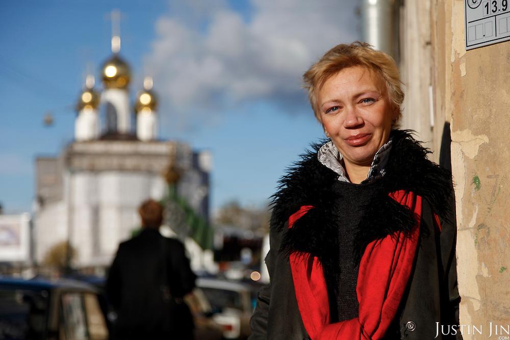 Irina Maslova, HIV activist.