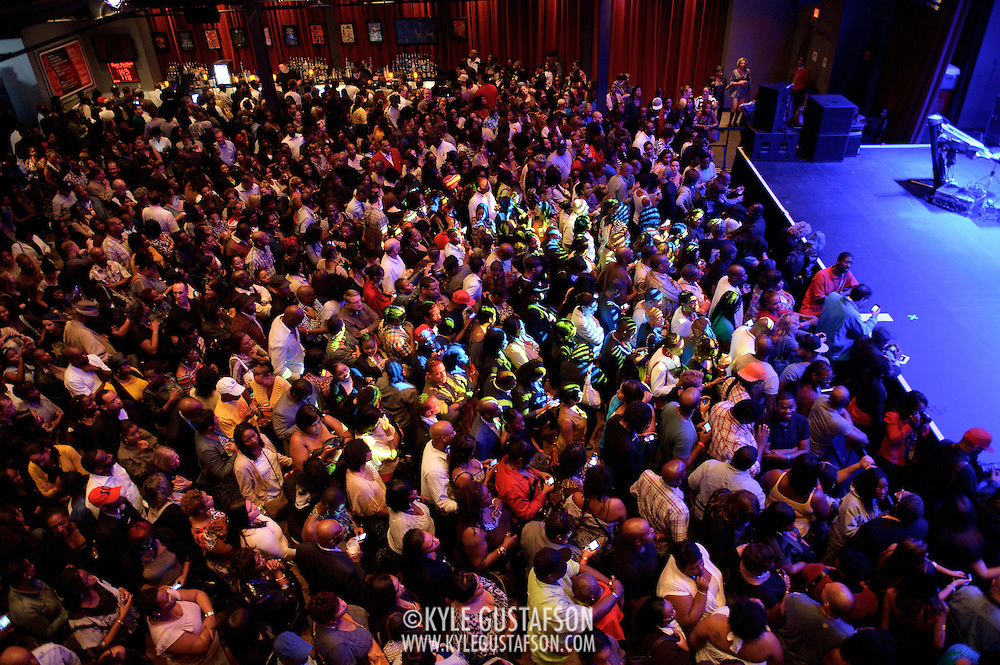 ARLINGTON, VA - September 15th, 2011 - The capacity crowd waits for headliner Mary J. Blige on the opening night of The Fillmore Silver Spring, owned and operated by Live Nation. (Photo by Kyle Gustafson/For The Washington Post).