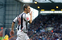 Photo: Leigh Quinnell.<br /> West Bromwich Albion v Burnley. Coca Cola Championship. 18/11/2006. West Broms Jason Koumas blows a kiss to the crowd to celebrate his goal.
