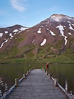 Small Pier, Siglufjörður, North Iceland.
