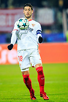 Sergio Escudero of FC Sevilla during Group E football match between NK Maribor and FC Sevilla in 6th Round of UEFA Champions League, on December 6, 2017 in Ljudski vrt, Maribor, Slovenia. Photo by Ziga Zupan / Sportida