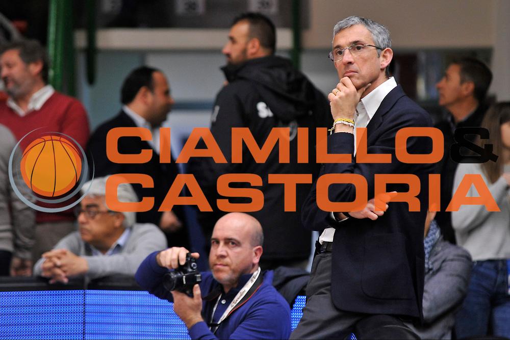 Fernando Marino<br /> Banco di Sardegna Dinamo Sassari - Enel New Basket Brindisi<br /> LegaBasket Serie A LBA Poste Mobile 2016/2017<br /> Sassari 02/04/2017<br /> Foto Ciamillo-Castoria