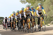 SPAIN / SPANJE / MALLORCA / CYCLING / WIELRENNEN / CYCLISME / CYCLOCROSS / VELDRIJDEN / TELENET FIDEA CYCLING TEAM / WINTERSTAGE / TRAINING CAMP / (L-R) TOM MEEUSEN / JENS VANDEKINDEREN / DAAN SOETE / THIJS AL / BART WELLENS / BEN BOETS /
