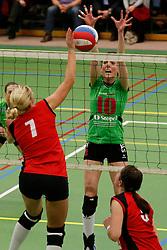 31-01-2013 VOLLEYBAL: BEKER VVC VUGHT - EUROSPED : VUGHT <br /> Marlou Sommer, Eurosped<br /> ©2012-FotoHoogendoorn.nl / Pim Waslander