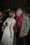 Kylie Minogue and Michael White,  Charles Finch and Chanel 7th Anniversary Pre-Bafta party to celebratew A Great Year of Film and Fashiont at Annabel's. Berkeley Sq. London W1. 10 February 2007. -DO NOT ARCHIVE-© Copyright Photograph by Dafydd Jones. 248 Clapham Rd. London SW9 0PZ. Tel 0207 820 0771. www.dafjones.com.