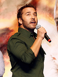 Nov 13, 2009; Las Vegas, NV, USA; Jeremy Piven of HBO's Entourage gets the crowd ready for the weigh-in between Manny Pacquiao and Miguel Cotto at the MGM Grand Garden Arena in Las Vegas, Nevada.  Mandatory Credit: Ed Mulholland