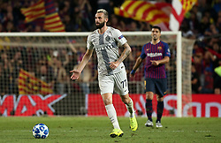 October 24, 2018 - Barcelona, Spain - Marcelo Brozovic during the match between FC Barcelona and Inter, corresponding to the week 3 of the group stage of the UEFA Champions Leage, played at the Camp Nou Stadium, on 24th October 2018, in Barcelona, Spain. (Credit Image: © Joan Valls/NurPhoto via ZUMA Press)
