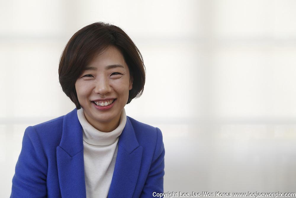 South Korean lawmaker Bae Jae-jeung in Seoul February 15, 2014. / Lee Jae-Won