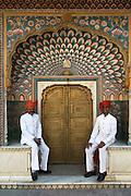 City Palace Guards, Jaipur, Rajasthan