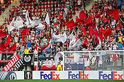 ALKMAAR - 15-09-2016, AZ - Dundalk FC, AFAS Stadion, 1-1, sfeer, vlaggen, supporters.