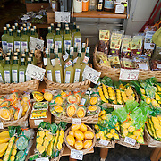 Amalfi, the typical products market