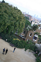 View from Park Güell, Barcelona, Spain<br />