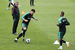 May 30, 2018 - Lisbon, Portugal - Portugal's defender Pepe (C ) in action during a training session at Cidade do Futebol (Football City) training camp in Oeiras, outskirts of Lisbon, on May 30, 2018, ahead of the FIFA World Cup Russia 2018 preparation matches against Belgium and Algeria...........during the Portuguese League football match Sporting CP vs Vitoria Guimaraes at Alvadade stadium in Lisbon on March 5, 2017. Photo: Pedro Fiuzaduring the Portugal Cup Final football match CD Aves vs Sporting CP at the Jamor stadium in Oeiras, outskirts of Lisbon, on May 20, 2015. (Credit Image: © Pedro Fiuza/NurPhoto via ZUMA Press)