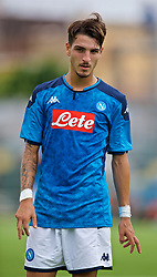 NAPLES, ITALY - Tuesday, September 17, 2019: SSC Napoli's Alberto Senese during the UEFA Youth League Group E match between SSC Napoli and Liverpool FC at Stadio Comunale di Frattamaggiore. (Pic by David Rawcliffe/Propaganda)