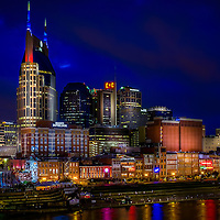 Twilight Nashville Skyline