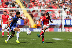Josh Cullen of Charlton Athletic passes the ball - Mandatory by-line: Arron Gent/JMP - 14/09/2019 - FOOTBALL - The Valley - Charlton, London, England - Charlton Athletic v Birmingham City - Sky Bet Championship