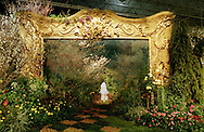 """A display titled """"Picture This"""", by the J. Franklin Styer Nurseries in Concordville, Pa., is shown Friday, March 12, 1999, at the Pennsylvania Horticultural Society's 1999 Philadelphia Flower Show in Philadelphia.  (photo by William Thomas Cain)"""