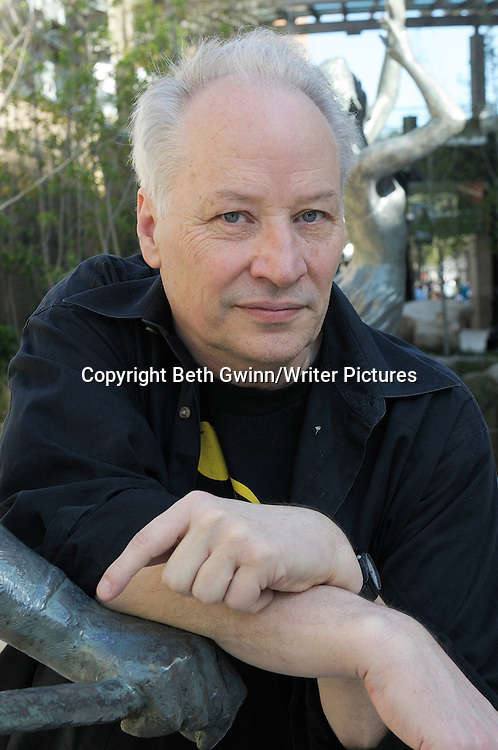 Joe Lansdale, American author and martial-arts expert photographed at the World Horror Convention in Salt Lake City, Utah on 31st March 2012. He won an award for starting the Horror Writer&rsquo;s of America guild back in the 1980&rsquo;s<br /> <br /> Picture by Beth Gwinn/Writer Pictures<br /> <br /> WORLD RIGHTS