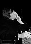 The Rolling Stones Charlie is my Darling - Ireland 1965..Charlie Watts strikes a thoughtful pose at The Rolling Stones press conference at the Adelphi Theatre, Middle Abbey Street, Dublin. This was the band's first Irish tour of 1965....07/01/1965.01/07/1965.07 January 1965...The Rolling Stones Charlie is my Darling - Ireland 1965.Out November 2nd from ABKCO.Super Deluxe Box Set/Blu-ray and DVD Details Revealed. .ABKCO Films is proud to join in the celebration of the Rolling Stones 50th Anniversary by announcing exclusive details of the release of the legendary, but never before officially released film, The Rolling Stones Charlie is my Darling - Ireland 1965.  The film marked the cinematic debut of the band, and will be released in Super Deluxe Box Set, Blu-ray and DVD configurations on November 2nd (5th in UK & 6th in North America).. .The Rolling Stones Charlie is my Darling - Ireland 1965 was shot on a quick weekend tour of Ireland just weeks after ?(I Can't Get No) Satisfaction? hit # 1 on the charts and became the international anthem for an entire generation.  Charlie is my Darling is an intimate, behind-the-scenes diary of life on the road with the young Rolling Stones featuring the first professionally filmed concert performances of the band's long and storied touring career, documenting the early frenzy of their fans and the riots their live performances incited.. .Charlie is my Darling showcases dramatic concert footage - including electrifying performances of ?The Last Time,? ?Time Is On My Side? and the first ever concert performance of the Stones counterculture classic, ?(I Can't Get No) Satisfaction.?  Candid, off-the-cuff interviews are juxtaposed with revealing, comical scenes of the band goofing around with each other. It's also an insider's glimpse into the band's developing musical style by blending blues, R&B and rock-n-roll riffs, and the film captures the spark about to combust into The Greatest Rock and Roll Band in the World.. .The 1965 vers