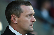 Picture by David Horn/Focus Images Ltd +44 7545 970036.30/08/2012.Northampton Town Manager, Aidy Boothroyd, looks on during the Capital One Cup match at Sixfields Stadium, Northampton.