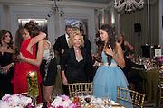 GERRI HALLIWELL; SAVANNAH MURPHY, Heather Kerzner and Marie Curie Cancer Care fundraising dinner,  Claridge's. London.