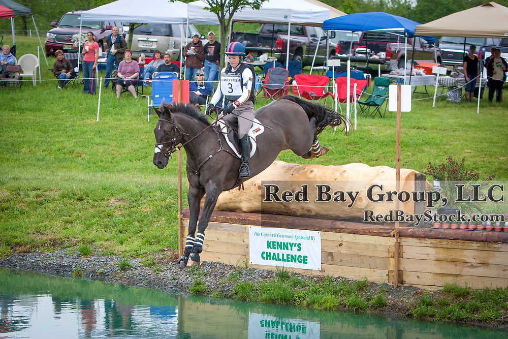 Caitlin Silliman and Remington XXV at the 2013 Jersey Fresh International Three-Day Event held in Allentown, New Jersey.