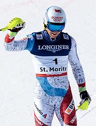 13.02.2017, St. Moritz, SUI, FIS Weltmeisterschaften Ski Alpin, St. Moritz 2017, alpine Kombination, Herren, Slalom, im Bild Mauro Caviezel (SUI, Herren Alpine Kombination Bronzemedaille) // men's Alpine Combined Bronze medalist Mauro Caviezel of Switzerland reacts after his run of Slalom competition for the men's Alpine combination of the FIS Ski World Championships 2017. St. Moritz, Switzerland on 2017/02/13. EXPA Pictures © 2017, PhotoCredit: EXPA/ Johann Groder