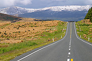 highway near Lindis Pass NZ