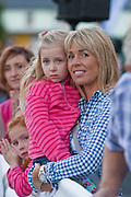 Eve and Paula Talbot ,Dungannon watching the Etap Hibernia Sky Ride in Ennis on Sunday. Photograph by Eamon Ward