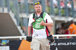 Behind the scenes, Photographer, , , 2013 IPC Athletics World Championships, Lyon, France