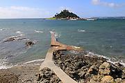 Saint Michael's Mount island,  Marazion, Cornwall, England, UK