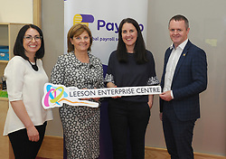 Pictured at the opening of the Leeson Enterprise Centre Westport.<br /> Pic Conor McKeown