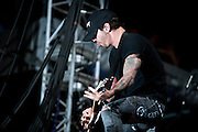 Godsmack performing at Carolina Rebellion at Metrolina Expo in Charlotte, NC on May 7, 2011