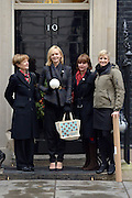 "© Licensed to London News Pictures. 05/12/2012. Westminster, UK Actress Carey Mulligan holds a christmas tree bauble on Downing Street today, 5th December 2012,  to launch the Christmas dementia campaign, called ""A Christmas to Remember"", Photo credit : Stephen Simpson/LNP"