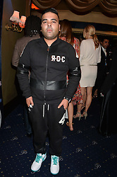 NAUGHTY BOY at The Hoping Foundation's 'Starry Starry Night' Benefit Evening For Palestinian Refugee Children held at The Cafe de Paris, Coventry Street, London on 19th June 2014.