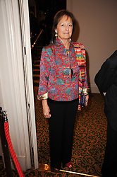 LADY RACHEL BILLINGTON at a gala dinner in celebration of 80 years since the first Foyles Literary Luncheon, held in The Ball Room, Grosvenor House Hotel, Park Lane, London on 21st October 2010.