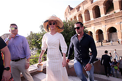 KATY PERRY AND ORLANDO BLOOM ARE SEEN VISITING THE COLOSSEUM ON APRIL 28,2018 IN ROME , ITALY. 28 Apr 2018 Pictured: ORLANDO BLOOM , KATY PERRY. Photo credit: Mertino / MEGA TheMegaAgency.com +1 888 505 6342