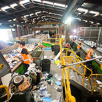 smart environmental recycling plant kopu coromandel peninsula photo shoot for coromandel thames district council