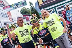 10.07.2019, Fuscher Törl, AUT, Ö-Tour, Österreich Radrundfahrt, 4. Etappe, von Radstadt nach Fuscher Törl (103,5 km), im Bild Edoardo Zardini (Neri Selle Italia KTM, ITA) mit Fans // during 4th stage from Radstadt to Fuscher Törl (103,5 km) of the 2019 Tour of Austria. Fuscher Törl, Austria on 2019/07/10. EXPA Pictures © 2019, PhotoCredit: EXPA/ JFK