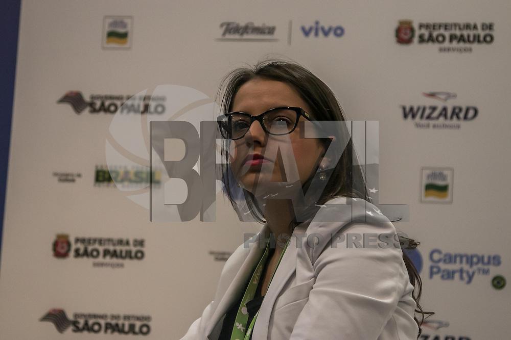 SÃO PAULO, SP, 03.02.2015 - CAMPUS PARTY 2015/ COLETIVA – O Presidente Campus Party, Pablo Regageles, durante a coletiva de imprensa da Campus Party 2015, na manhã desta terça – feira(3), na zona sul de São Paulo. (Foto: Taba Benedicto/ Brazil Photo Press)