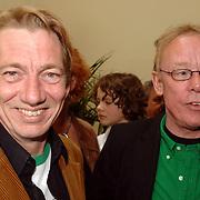 NLD/Amsterdam/20060409 -  Uitreiking Annie M.G. Schmidtprijs 2005, Bavo Galema en Jack Spijkerman