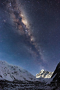 Sure, you can conquer Mount Cook, New Zealand's highest peak at 3,724m (12,218 feet), but that's just the start of the mighty Milky Way!<br />