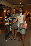 Constance Chpilevsby, Margherita Manca and Ginevra Antonini. The opening  day of the Grosvenor House Art and Antiques Fair.  Grosvenor House. Park Lane. London. 14 June 2006. ONE TIME USE ONLY - DO NOT ARCHIVE  © Copyright Photograph by Dafydd Jones 66 Stockwell Park Rd. London SW9 0DA Tel 020 7733 0108 www.dafjones.com