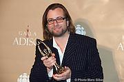 Luc de la Rochellière, gagnants d'un des 11 trophées Félix remis le 7 novembre 2010, lors de la 32e édition du Gala de l'ADISQ -  Theatre Saint-Denis / Montreal / Canada / 2010-11-07, © Photo Marc Gibert/ adecom.ca
