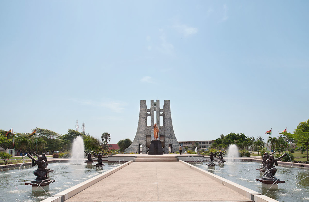 Nkrumah Memorial Park, Accra, Ghana 2011